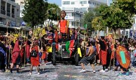Limassol Carnival Parade Cyprus 2016 Royalty Free Stock Image
