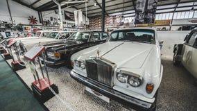 Limassol, Chypre - août 2018 : Musée de moteur de la Chypre Voyage autour de l'île de la Chypre Véhicule de cru Photo libre de droits