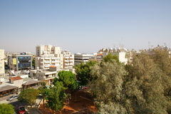 Limassol city. View in Cyprus Royalty Free Stock Images