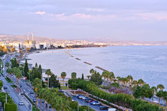 Limassol cityscape Royalty Free Stock Photos