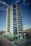 Limassol, Cyprus - DECEMBER 2016: Modern residential building Royalty Free Stock Photos