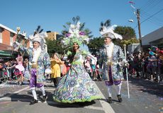 Carnival Parade, Limassol, Cyprus Royalty Free Stock Photo