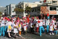 Limassol Carnival Festival Karnavali Lemesou 2017 stock image