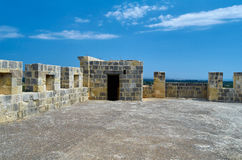 LIMASSOL, CYPRUS - Kolossi Castle, fort of Medieval Cyprus,fine Royalty Free Stock Photo