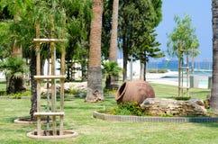 Limassol deptaka aleja zdjęcie royalty free