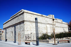 Limassol fort. The 13th century fort at the harbour in Limassol, Cyprus, now houses the Cyprus medieval Museum Royalty Free Stock Photo