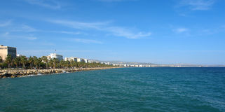 Limassol harbor Stock Photography