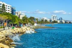 Limassol invallning arkivbilder