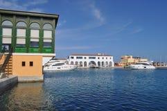 Limassol-Jachthafen in Zypern Lizenzfreie Stockfotos