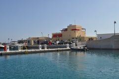Limassol-Jachthafen in Zypern Stockbild