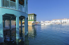 Limassol Jachthaven, Cyprus stock foto