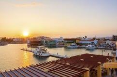 Limassol Jachthaven, Cyprus royalty-vrije stock foto's
