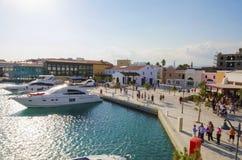 Limassol Jachthaven, Cyprus royalty-vrije stock foto