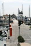 Limassol Jachthaven in November royalty-vrije stock afbeelding