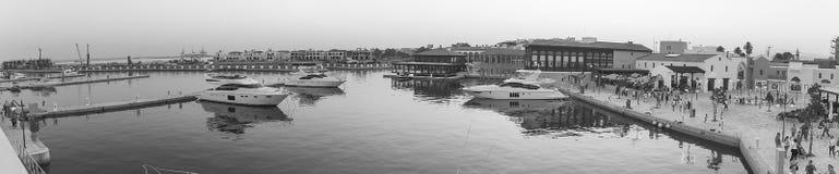 Limassol Marina Zdjęcia Royalty Free