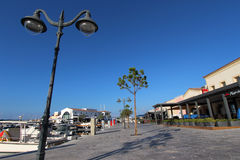 Limassol Marina zdjęcia stock