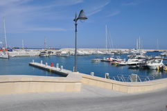 Limassol marina Arkivbild