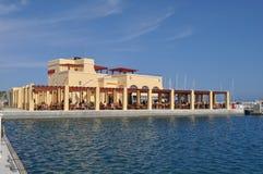 Limassol marina Arkivfoto