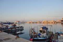 Limassol marina Arkivbilder