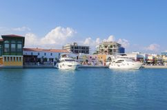 Limassol Marina, Cyprus Royalty Free Stock Photos