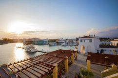 Limassol Marina, Cyprus Stock Image