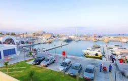 Limassol Marina, Cyprus Stock Photo