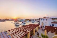 Limassol Marina, Cyprus Royalty Free Stock Photo