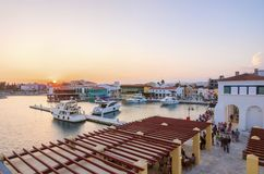 Limassol Marina, Cyprus Royalty Free Stock Images