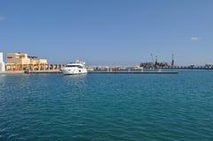 Limassol marina i Cypern Royaltyfri Foto
