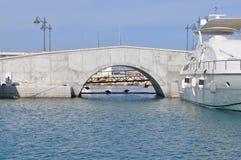 Limassol marina i Cypern Royaltyfri Fotografi