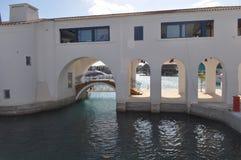 Limassol marina i Cypern Royaltyfria Foton