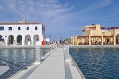 Limassol marina i Cypern Royaltyfri Bild