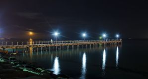 Limassol pier Stock Photography