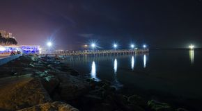 Limassol pier Stock Photography