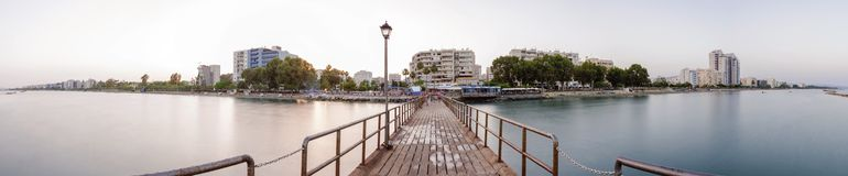 Limassol-Skyline, Zypern Lizenzfreie Stockbilder