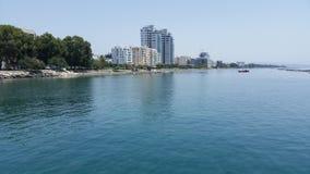 Limassol-Strand Lizenzfreies Stockfoto