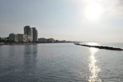 Limassol-Strand Stockbilder