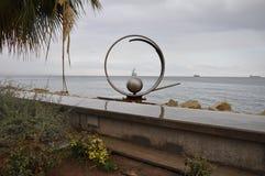 Limassol-Strand Stockfotografie
