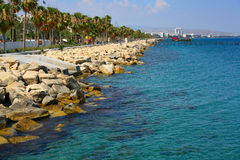 Limassol. Sunny day in Limassol, Cyprus Stock Images