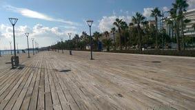 Limassol - Znacząco miasto w republice Cyrus Obraz Stock