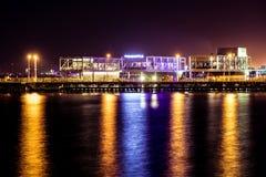 LIMASSOL, ZYPERN - 17. AUGUST 2016: Eben konstruiertes Limassol m stockbild