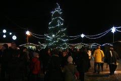 Limatola christmas tree Royalty Free Stock Image