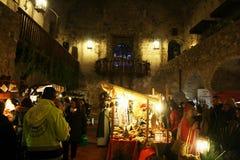 Limatola-Weihnachtsmarkt Stockbilder