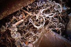 Limature del metallo Immagini Stock