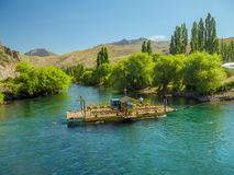 Limay flod Fotografering för Bildbyråer