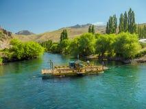 Limay-Fluss Stockbild