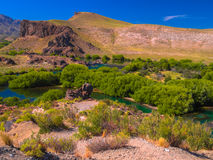 Limay river Stock Image