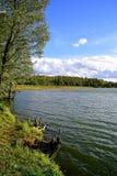 Limbazu sjö Royaltyfri Fotografi