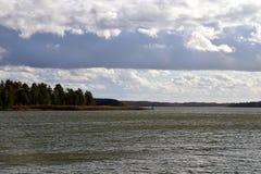 Limbazu sjö Royaltyfri Foto