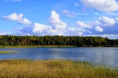 Limbazu sjö Fotografering för Bildbyråer